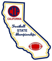 CIF State Champ Football Logo